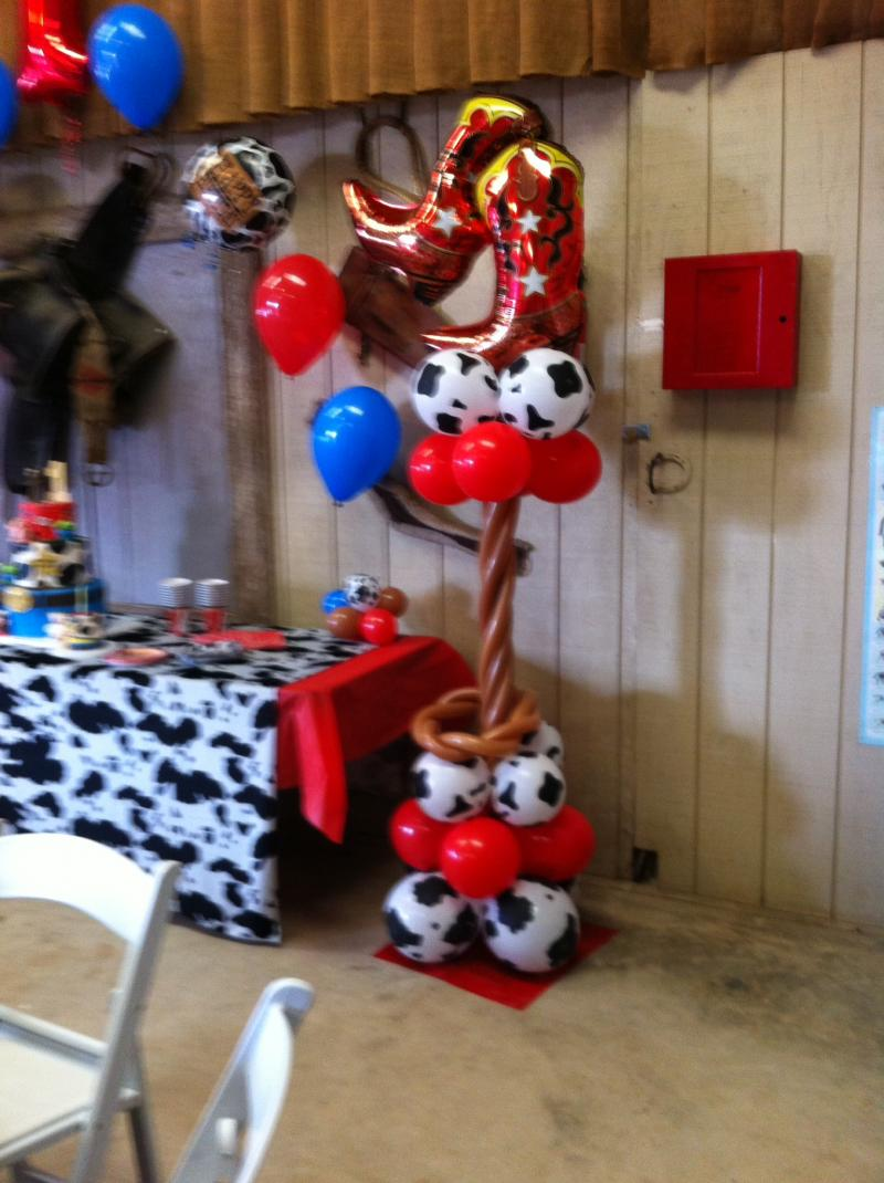 Balloon Decor Of Central California Home