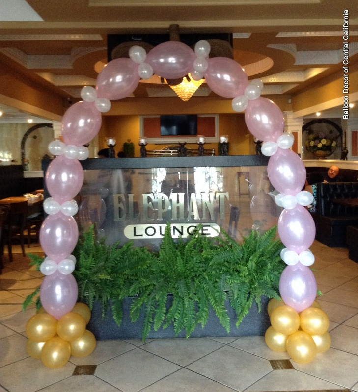 2Colors 20X12Link o Loonsu002680X5Round Balloons Arch PARTY