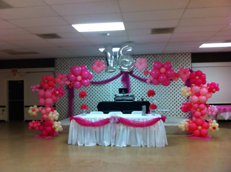 16 BIRTHDAY PARTY ARCH CASINO THEME BALLOON DECORATIONS