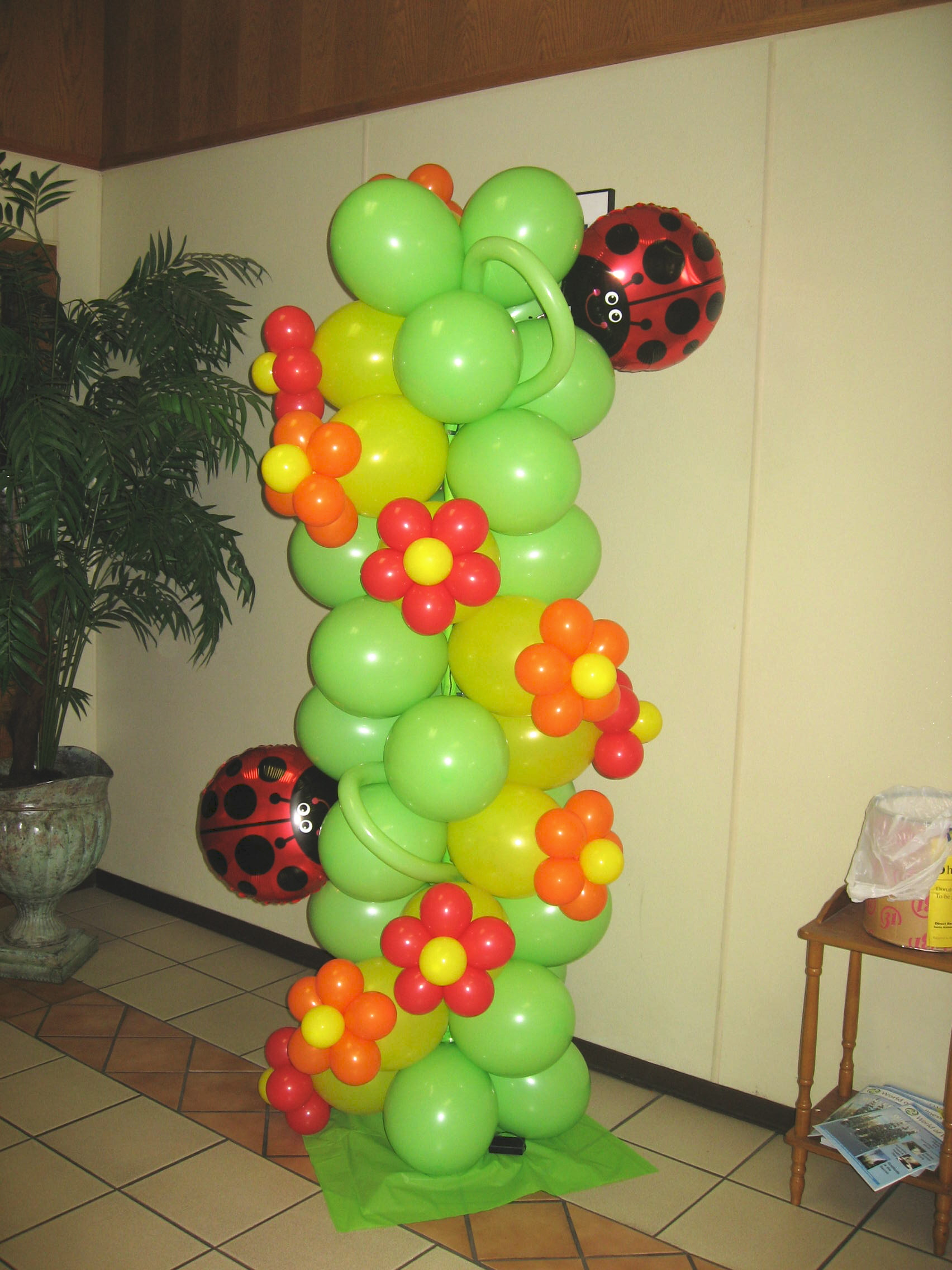 Balloon Decor Of Central California Columns