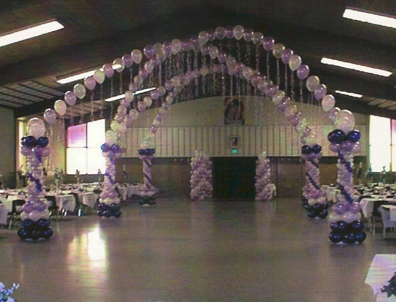 Hollywood theme quinceanera quinceanera themes party for Balloon decoration ideas for a quinceanera