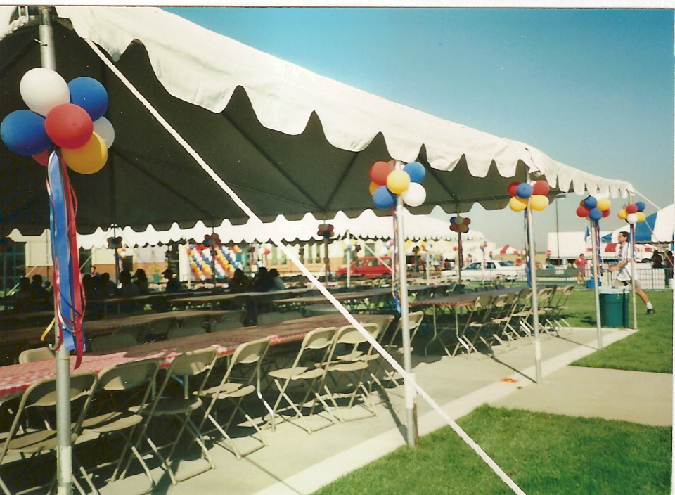 TENT DECOR & Balloon Decor of Central California - TENT DECOR